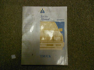 1992 1993 MITSUBISHI Truck Service Repair Shop VOL 2 ELECTRICAL FACTORY OEM 93