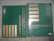 1993 LINCOLN CONTINENTAL Service Shop Manual Set FACTORY DEALERSHIP W EWD
