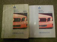 1992 1993 MITSUBISHI Diamante Service Shop Manual 2 VOL SET OEM DUAL YEAR DEAL
