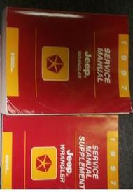 1997 JEEP WRANGLER Service Repair Shop Manual FACTORY DEALER SET BOOK 97 MOPAR