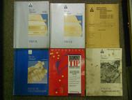 1992 1994 MITSUBISHI Truck Service Repair Shop Manual FACTORY OEM BOOK 6 VOL SET
