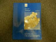 1992 1995 MITSUBISHI Manual Transmission Overhaul Service Repair Shop Manual OEM