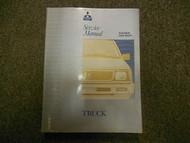 1992 1995 MITSUBISHI Truck Service Repair Shop Manual FACTORY OEM VOL 1 BOOK 95