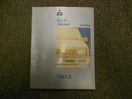 1992 1995 MITSUBISHI Truck Service Repair Shop Manual VOL 2 FACTORY OEM BOOK 95
