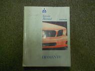 1992 1995 MITSUBISHI Diamante Service Repair Shop Manual FACTORY 92 95 OEM VOL 2