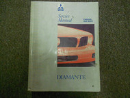 1992 1995 MITSUBISHI Diamante Service Repair Shop Manual FACTORY VOL 1 OEM 92 95