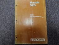 1982 Mazda 626 Electrical Wiring Service Repair Shop Manual FACTORY OEM BOOK 82