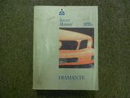 1992 1996 MITSUBISHI Diamante Service Repair Shop Manual VOL 1 FACTORY OEM 92 96