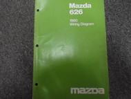 1980 Mazda 626 Electrical Wiring Service Repair Shop Manual FACTORY OEM BOOK 80