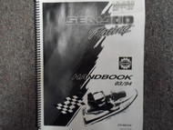 2000 Sea Doo Sportster LE Sport Boats Service Repair Shop Manual Supplement OEM