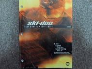 2003 Ski Doo 4 Tec Legend Grand Tour Service Repair Shop Manual Supplement OEM