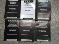2005 CHRYSLER PACIFICA Service Repair Shop Manual Set W DIAGNOSTICS & WIRING BK