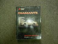 1998 MITSUBISHI DIAMANTE Service Repair Shop Manual Volume 1 FACTORY OEM BOOK 98