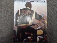 1991 Harley Davidson Summer Spring Motorclothes and Collectibles Catalog Manual
