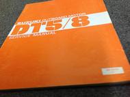 1980 Suzuki Outboard Motor DT5 8 Service Repair Shop Manual FADED COVER SR-9210