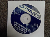2008 POLARIS Phoenix Sawtooth Service Repair Shop Manual CD FACTORY OEM 08