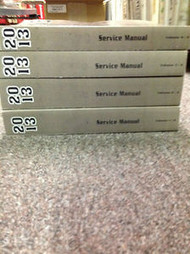 2013 CADILLAC CTS Service Shop Repair Manual SET FACTORY BRAND NEW OEM 2013
