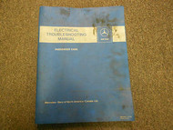 1975 1979 MERCEDES 110 124 189 114 CLASS Electrical Troubleshooting Manual OEM