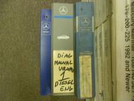1981 1989 MERCEDES SLC E S 107 124 126 Diagnostic Electrical Service Manual OEM