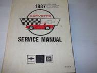 1987 Chevrolet CHEVY CORVETTE Service Repair Shop Manual BRAND NEW DEALERSHIP 87