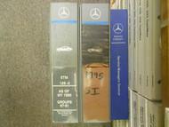 1980 1998 MERCEDES S C SL E CLASS 140 126 202 201 124 Electrical Service Manual