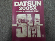 1979 Datsun 200SX Service Repair Shop Manual FACTORY DEALER SHIP OEM BOOK 79