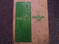 1982 Datsun Nissan 310 Service Repair Shop Manual FACTORY OEM BOOK OIL DAMAGED