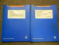 1998 99 00 01 02 VW NEW BEETLE Automatic Suspension Service Repair Manual SET