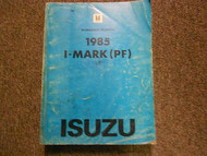 1985 ISUZU I-MARK I MARK PF Service Repair Shop Manual Electricals Clutch OEM