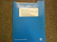 1993 94 95 96 97 VW GOLF GTI JETTA 2.0 OBD II GENERIC SCAN TOOL FUEL INJ Manual