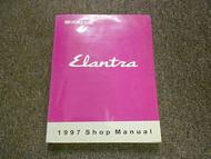 1997 HYUNDAI ELANTRA Service Repair Shop Manual V2 Engine Body Electrical Heat