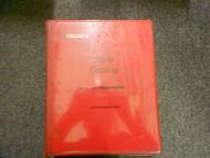 1996 2000 ISUZU HOMBRE Illustrated Service Parts Catalog Manual BINDER EDI OEM