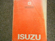 1983 Isuzu Impulse Service Repair Shop Manual FACTORY OEM BOOK 83 WORN