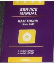 1996 Dodge Ram Truck 1500 2500 3500 Service Shop Repair Manual NEW FACTORY OEM