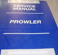 2002 PLYMOUTH PROWLER Service Repair Shop Manual 2002 FACTORY DEALERSHIP BOOKS