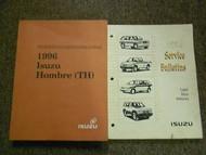 1996 ISUZU HOMBRE TH Electrical Driveability Service Repair Shop Manual SET OEM