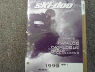 1999 Ski Doo Mini Z Parts Accessories Catalog Service Manual Factory OEM