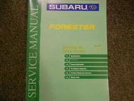 2001 Subaru Forester General Information Section 1 Service Repair Shop Manual
