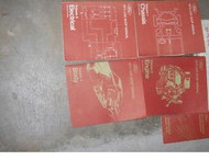 1974 FORD MUSTANG THUNDERBIRD LINCOLN MERCURY COUGAR Service Shop Repair Manual