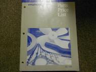 1999 HYUNDAI Parts Price List Manual JULY Elantra Accent FACTORY OEM BOOK 99