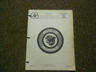 1976 Arctic Cat Jag Illustrated Service Parts Catalog Manual FACTORY OEM BOOK 76