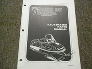 1979 Arctic Cat Pantera Illustrated Service Parts Catalog Manual FACTORY OEM