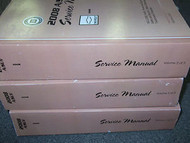 2008 CHEVY CHEVROLET HHR H H R Service Shop Repair Manual Set FACTORY BOOKS NEW