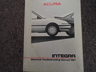 1987 Acura Integra Electrcial Service Repair Shop Manual FACTORY OEM BOOK 87