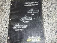 1988 ARCTIC CAT Jag Panther Super Jag Service Manual
