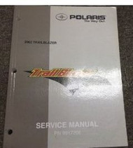 2002 POLARIS TRAIL BLAZER TRAILBLAZER ATV QUAD Service Shop Repair Manual 02