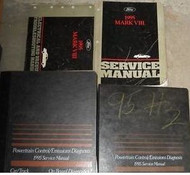 1995 LINCOLN MARK VIII 8 V III Service Shop Repair Manual Set FACTORY 95 BOOKS
