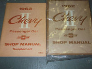 1962 Chevrolet Chevy II TWO 2 Service Repair Shop Manual Set FACTORY 62 BOOKS