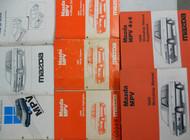 1989 Mazda MPV M P V Service Shop Repair Manual SET FACTORY OEM RARE 4x4 4 x 4