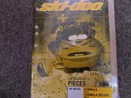 2000 Ski Doo Touring 500 LC Parts Accessories Catalog Manual Factory OEM Book